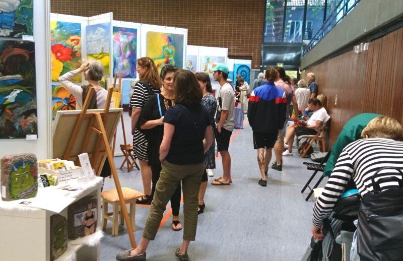 KunstWerk - Ausstellung alle zwei Jahre in der Stormarnhalle in Bad Oldesloe